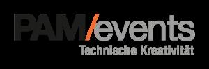 PAM/events logo